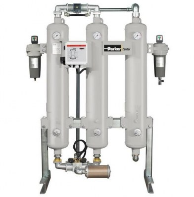 KA-MT 35-95 Series Compressed Air Adsorption Dryers With Activated Carbon Stage